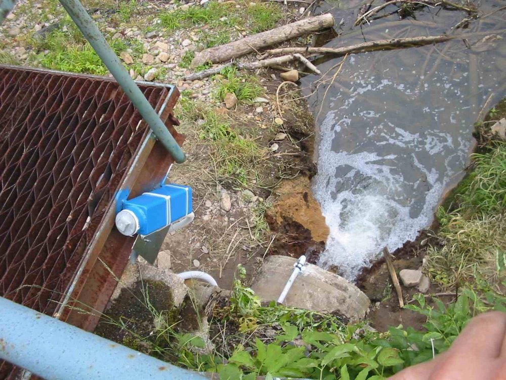 PC water quality monitoring<br />Remote camera monitoring the quality of discharged water, ESAB Vamberk.